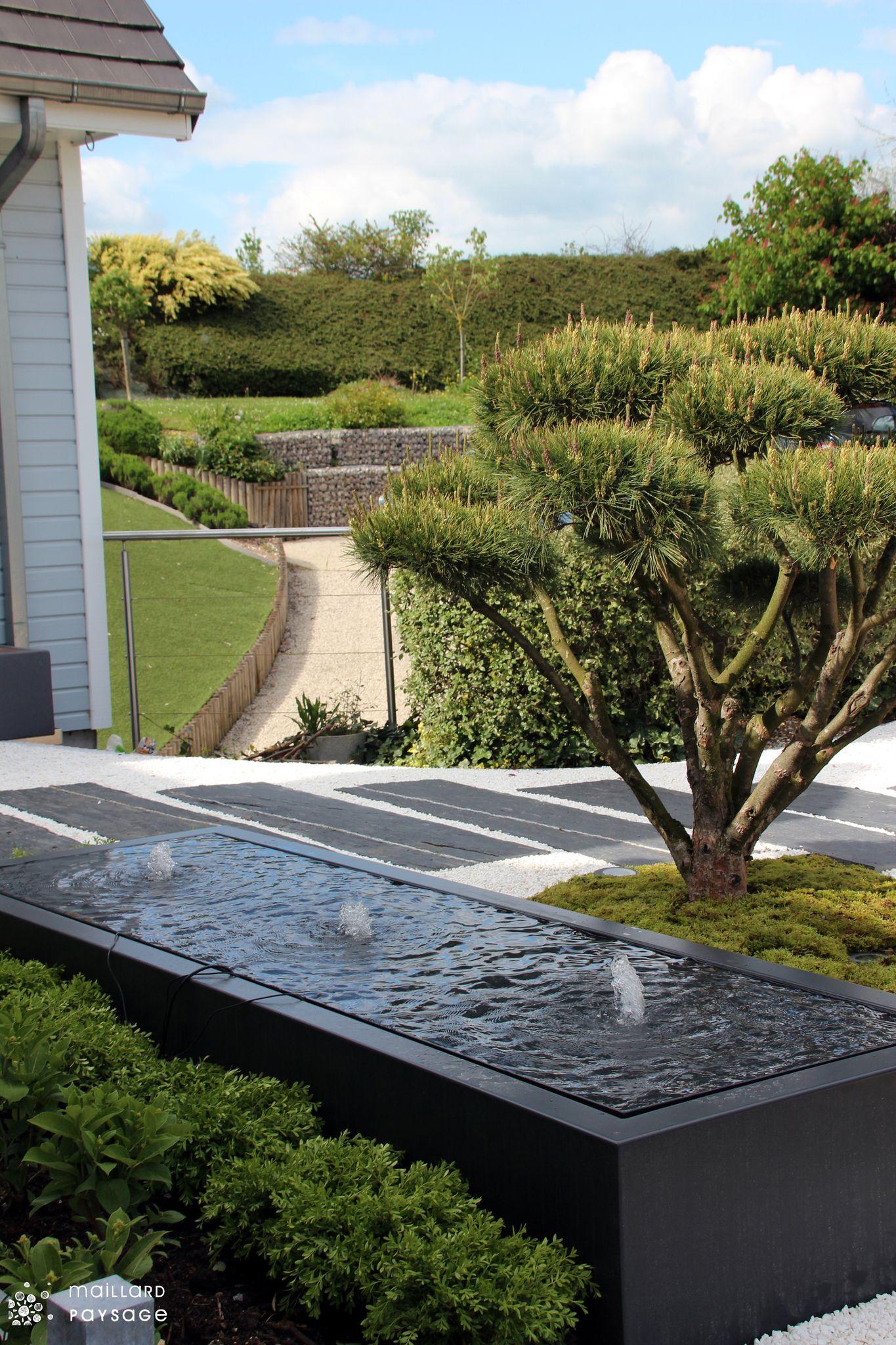 maillard paysage aménagement table d'eau troissereux