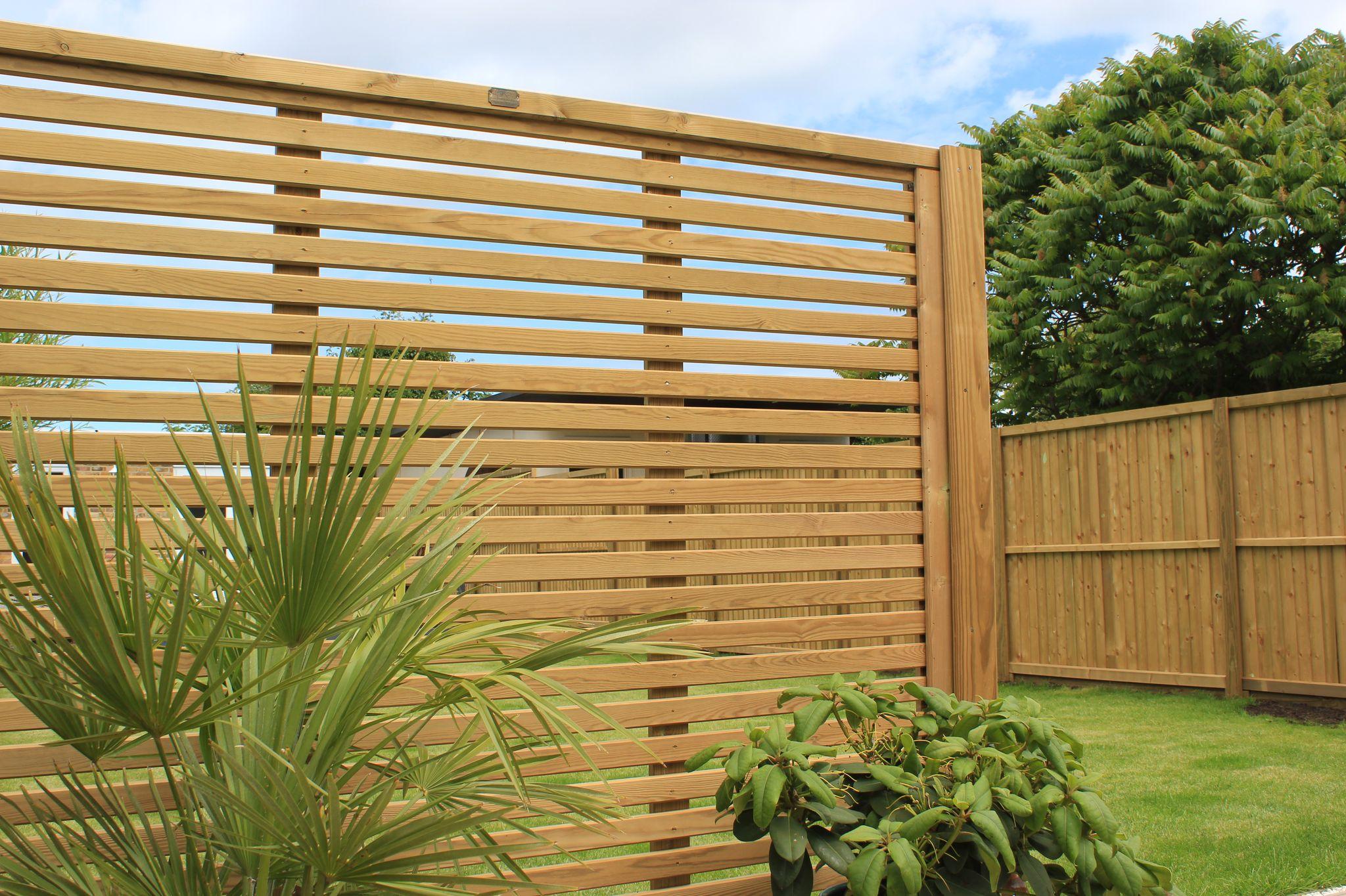 maillard paysage clôture bois jacksons panneau vénitien
