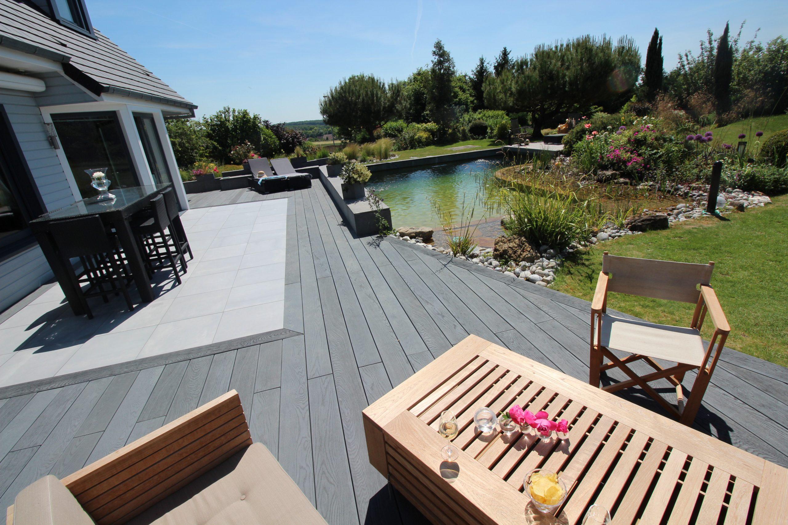 Terrasse imitation bois Ansyear